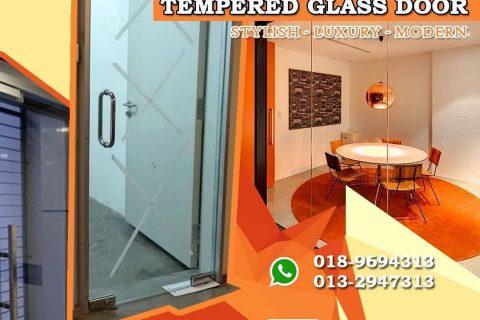SHOPFRONT Tempered Glass Installation 2022 (Shah Alam & Klang) by Fata Bestari