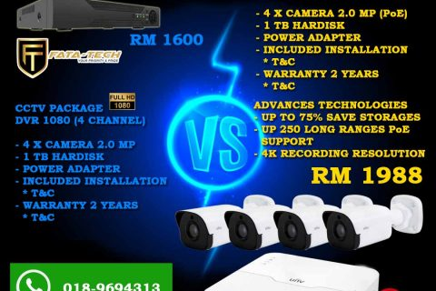 PAKEJ CCTV PREMIUM 2020 (BUSSINESS PRO)